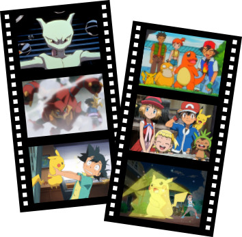 The TV Anime series and movies