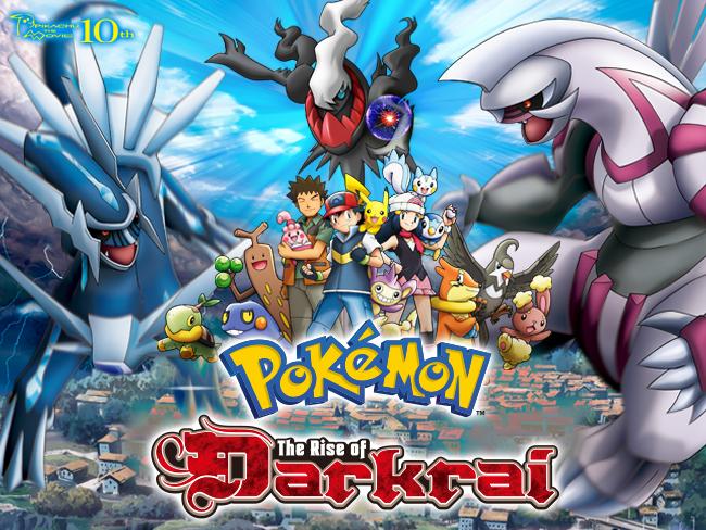 pokémon the rise of darkrai movie the official pokémon website