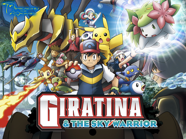 Giratina The Sky Warrior Movie The Official Pokemon Website
